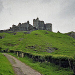 Carreg Cennen Castle dog walk