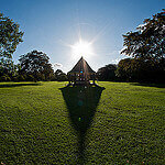 """Dog Walking in Florence Park by Jónatas Luzia licensed under CC BY 2.0"""