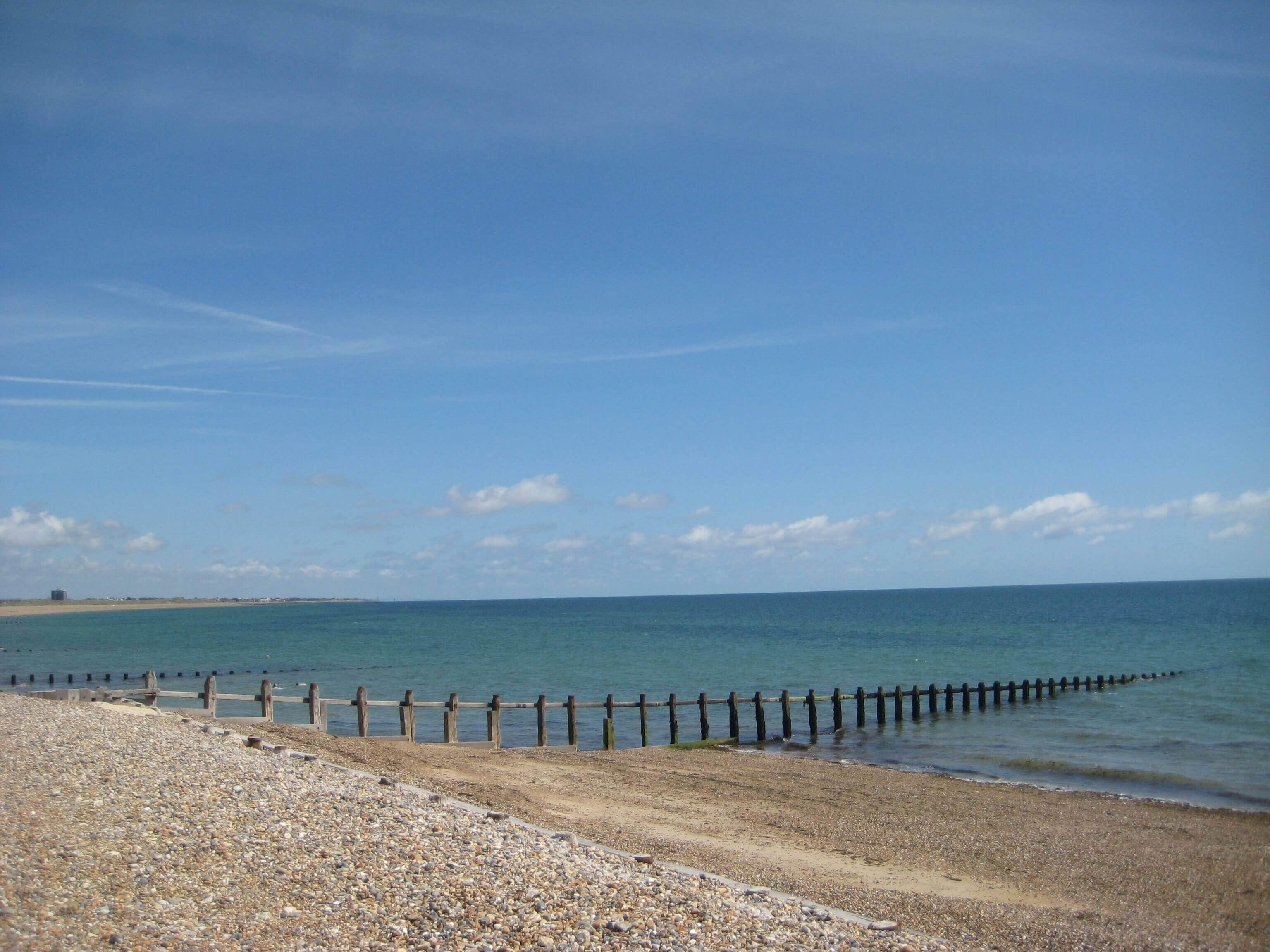 Climping Beach, a dog friendly beach in Sussex