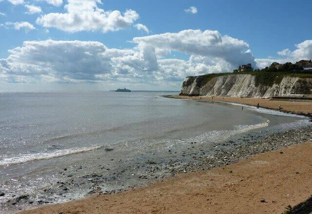 Dumpton Gap, a dog friendly beach in Kent