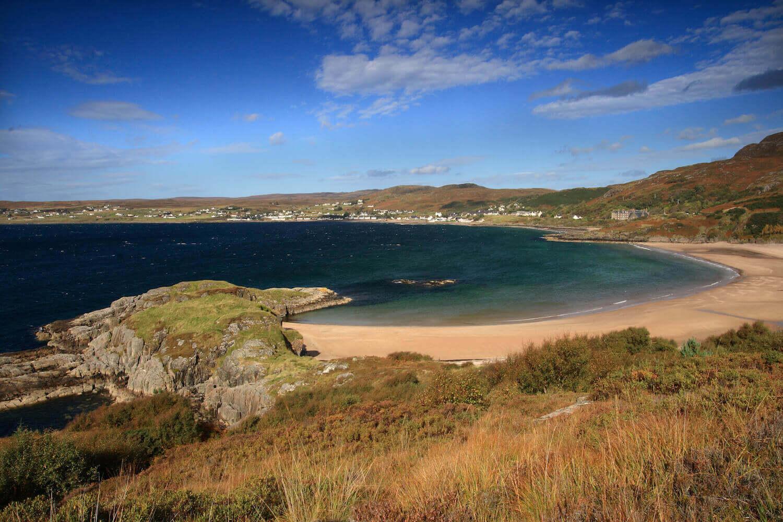 Gairloch Beach, a dog friendly beach in Scotland