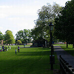 hoglands park, one of southamptons central parks, where you can walk your dog in southampton